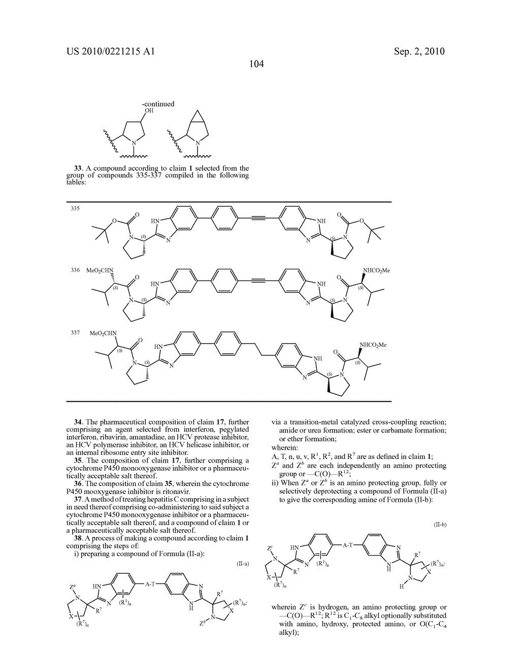 LINKED DIBENZIMIDAZOLE DERIVATIVES - diagram, schematic, and image 105