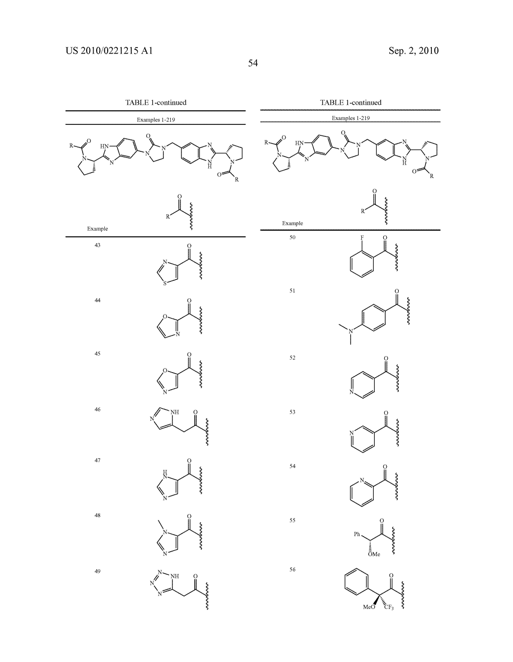 LINKED DIBENZIMIDAZOLE DERIVATIVES - diagram, schematic, and image 55