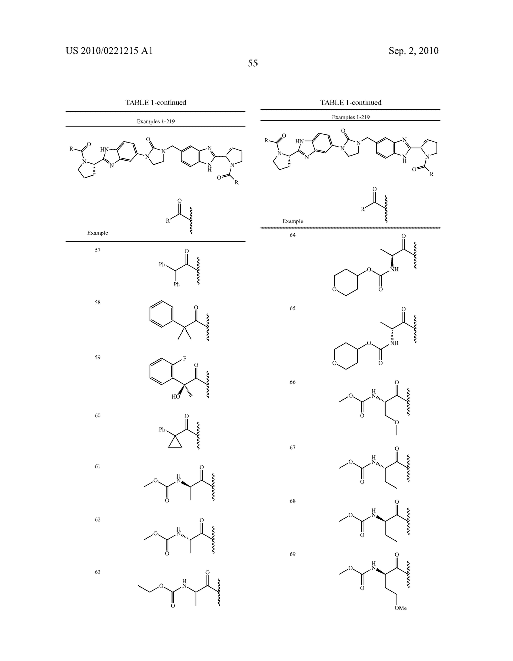 LINKED DIBENZIMIDAZOLE DERIVATIVES - diagram, schematic, and image 56