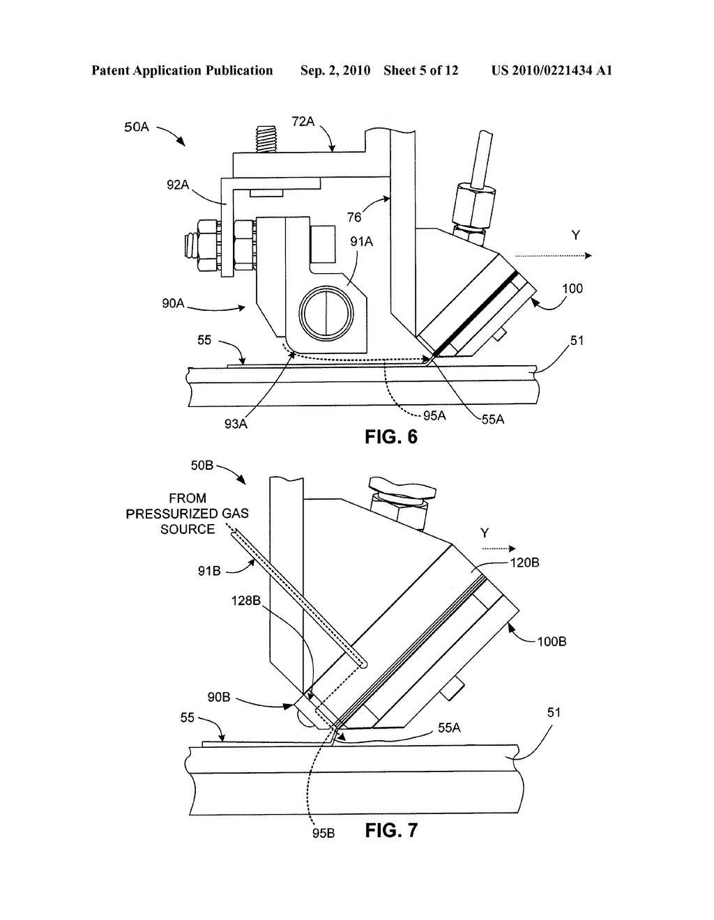 Micro-Extrusion System With Airjet Assisted Bead Deflection - diagram, schematic, and image 06