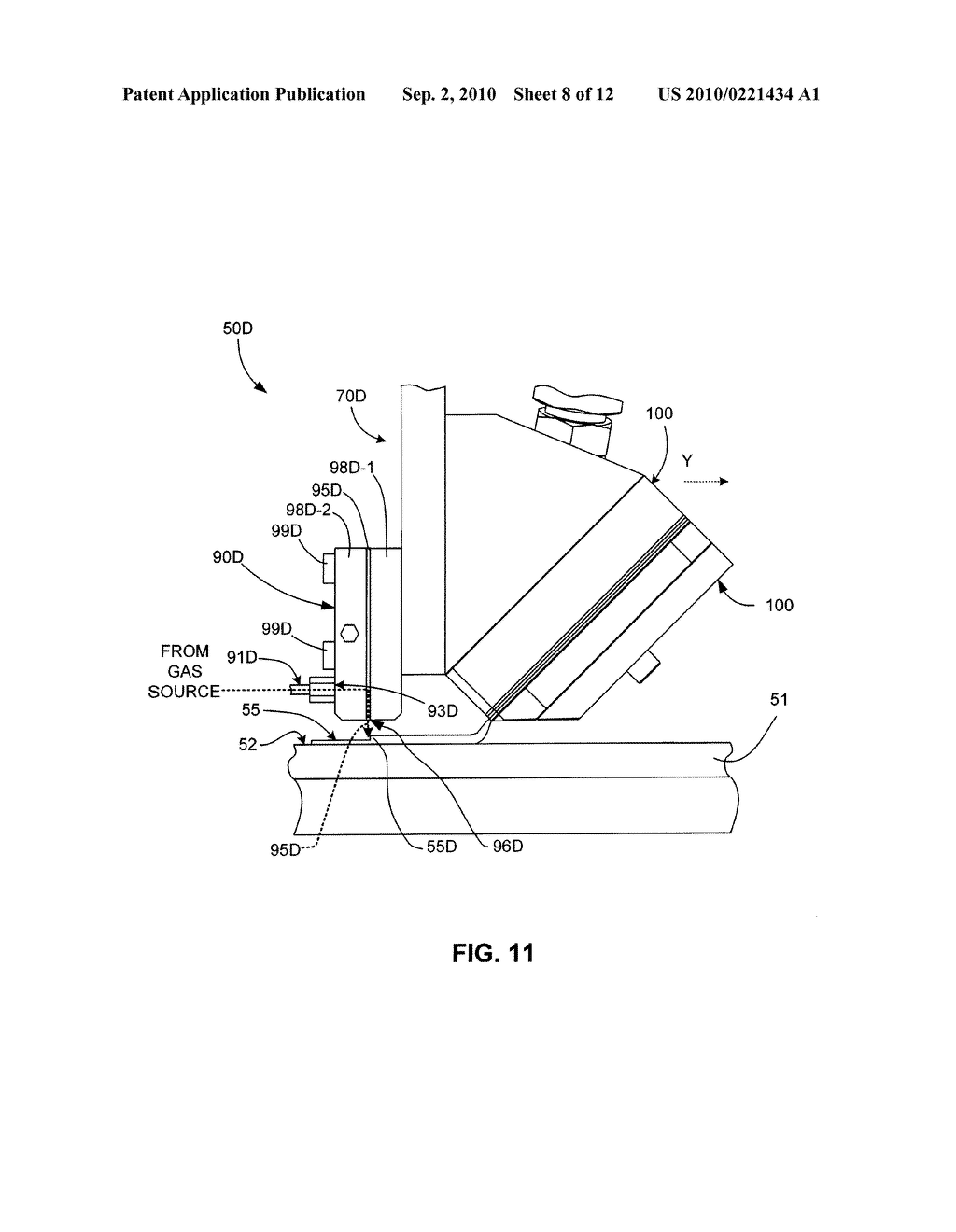 Micro-Extrusion System With Airjet Assisted Bead Deflection - diagram, schematic, and image 09