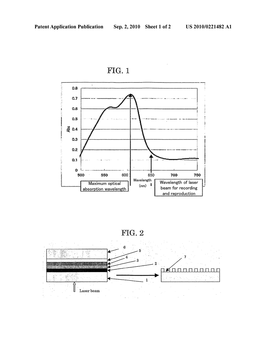 OPTICAL RECORDING MEDIUM AND METHOD FOR MANUFACTURING THE SAME - diagram, schematic, and image 02