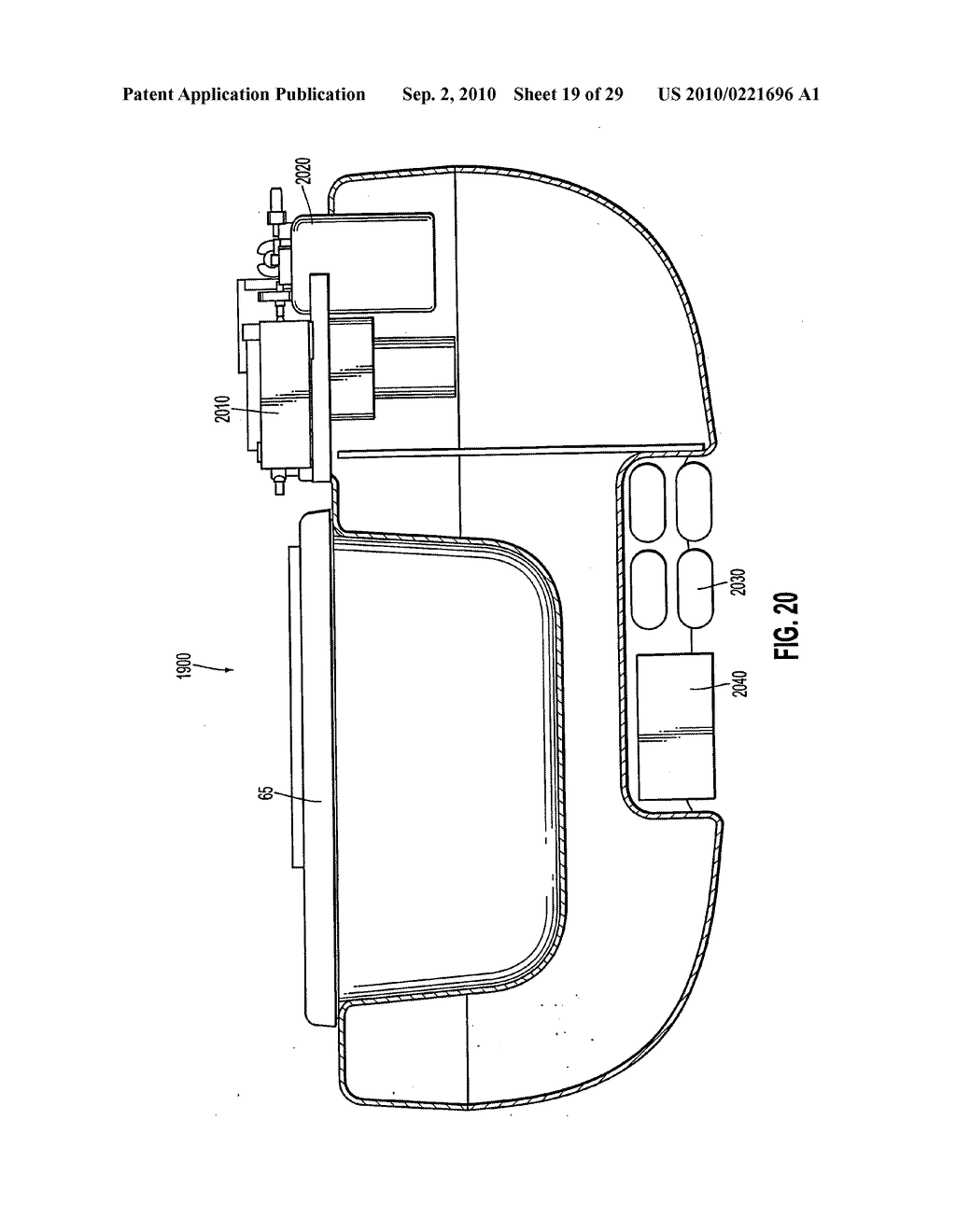 Apparatus and method for maintaining and/or restoring viability of organs - diagram, schematic, and image 20