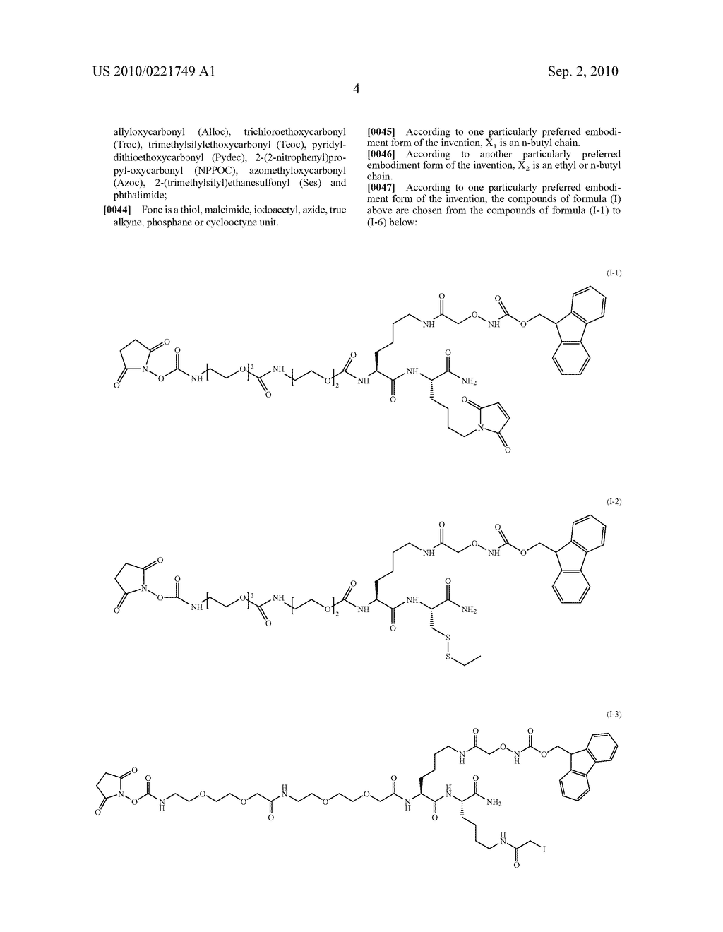 THREE-FUNCTIONAL PSEUDO-PEPTIDIC REAGENT, AND USES AND APPLICATIONS THEREOF - diagram, schematic, and image 05