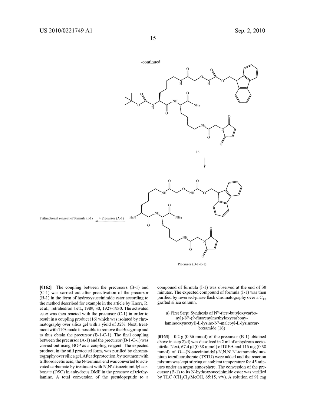 THREE-FUNCTIONAL PSEUDO-PEPTIDIC REAGENT, AND USES AND APPLICATIONS THEREOF - diagram, schematic, and image 16