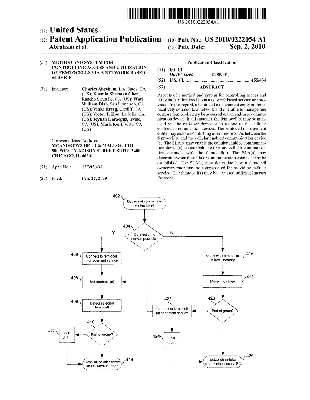 METHOD AND SYSTEM FOR CONTROLLING ACCESS AND UTILIZATION OF FEMTOCELLS VIA A NETWORK BASED SERVICE - diagram, schematic, and image 01