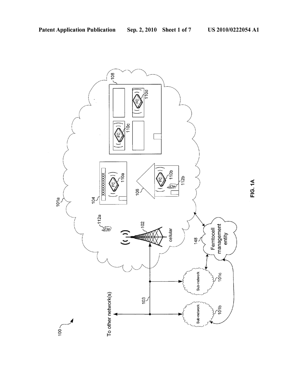 METHOD AND SYSTEM FOR CONTROLLING ACCESS AND UTILIZATION OF FEMTOCELLS VIA A NETWORK BASED SERVICE - diagram, schematic, and image 02