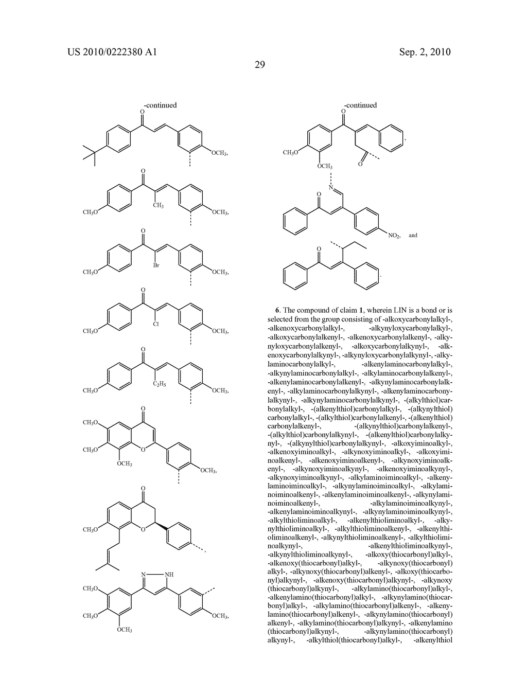 Modified Chalcone Compounds as Antimitotic Agents - diagram, schematic, and image 30