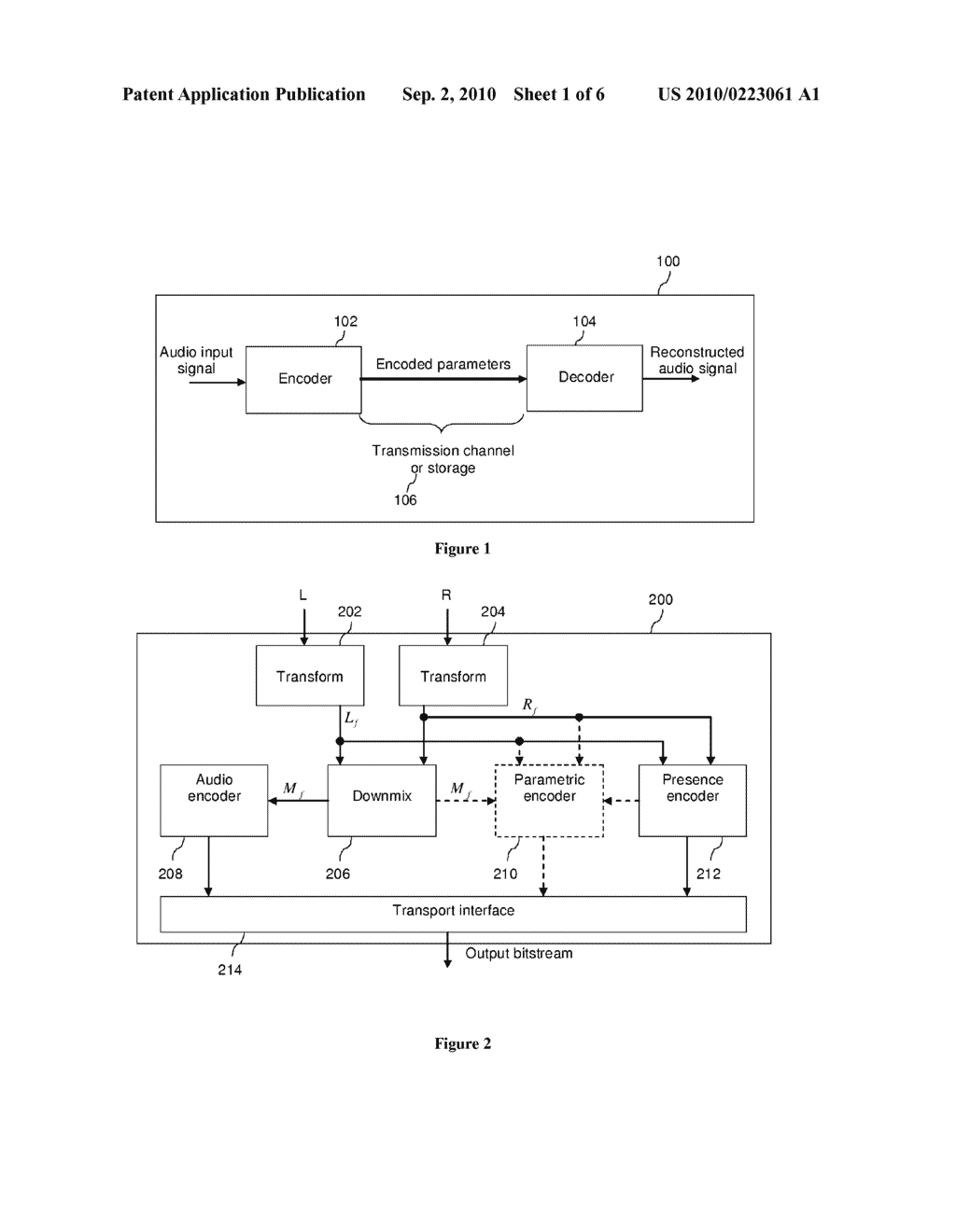 Method and Apparatus for Audio Coding - diagram, schematic, and image 02
