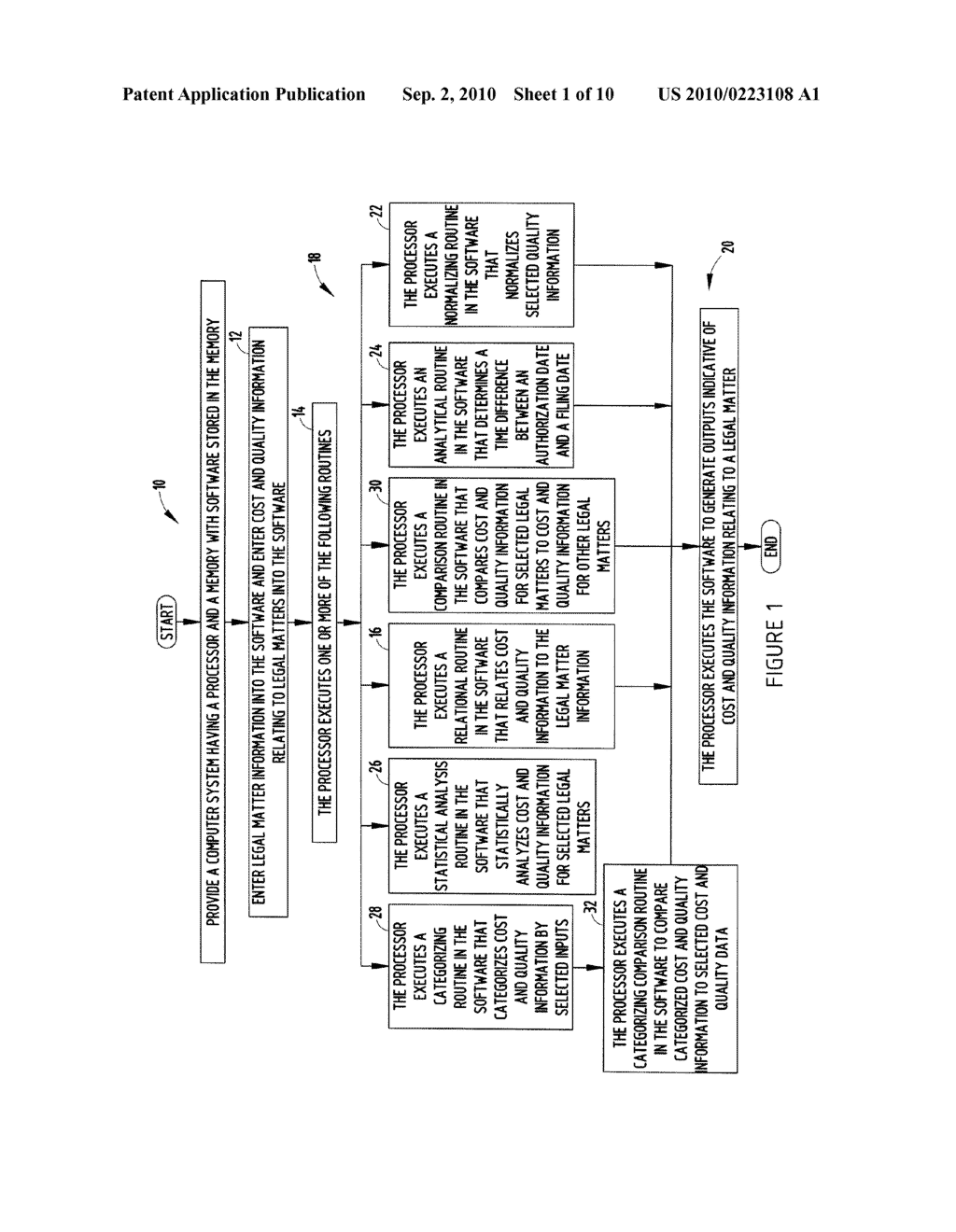 SYSTEM AND METHOD FOR MANAGING LEGAL SERVICE PROVIDERS - diagram, schematic, and image 02