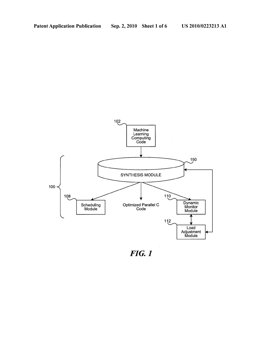 SYSTEM AND METHOD FOR PARALLELIZATION OF MACHINE LEARNING COMPUTING CODE - diagram, schematic, and image 02