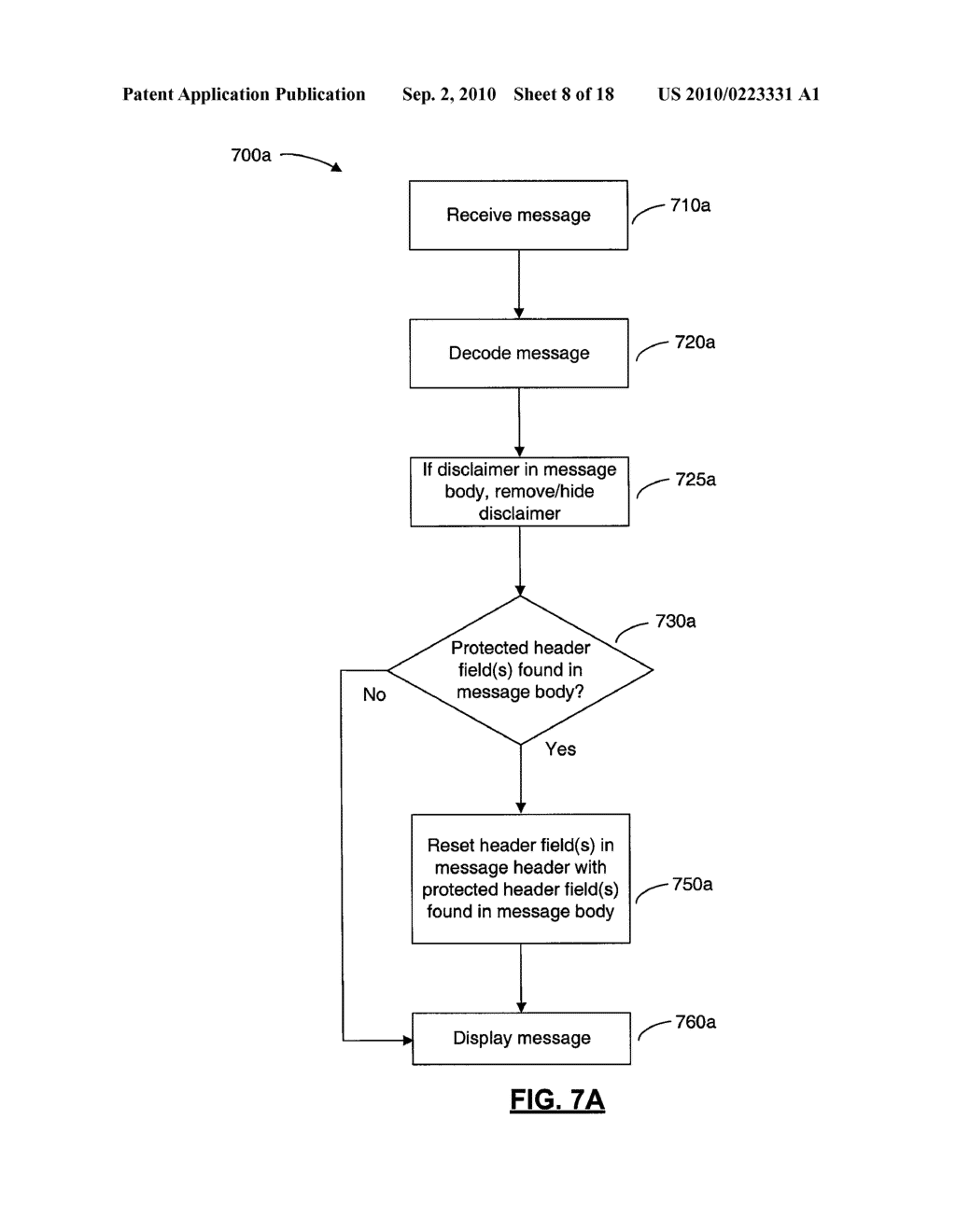 SYSTEMS AND METHODS FOR PROTECTING HEADER FIELDS IN A MESSAGE - diagram, schematic, and image 09