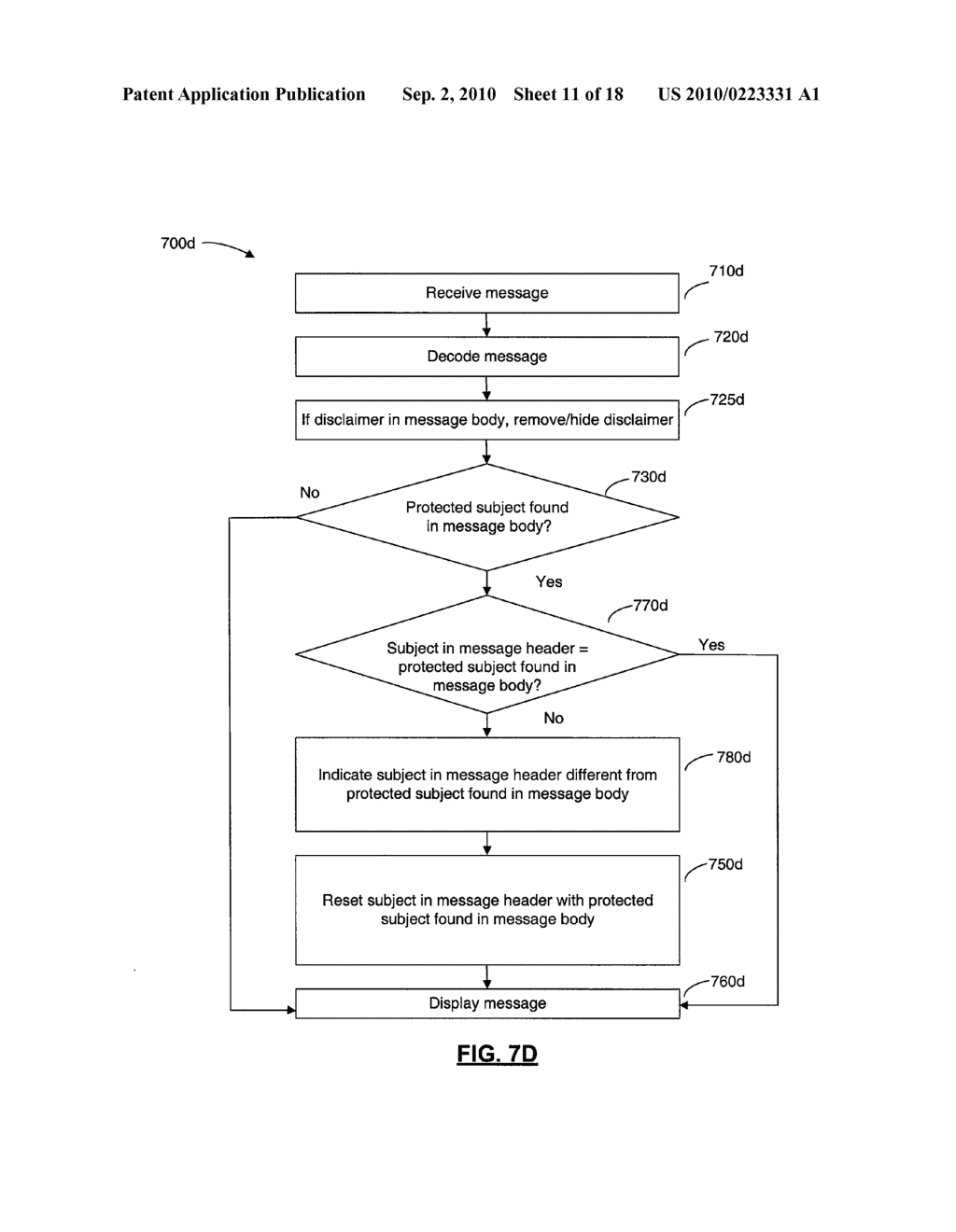 SYSTEMS AND METHODS FOR PROTECTING HEADER FIELDS IN A MESSAGE - diagram, schematic, and image 12