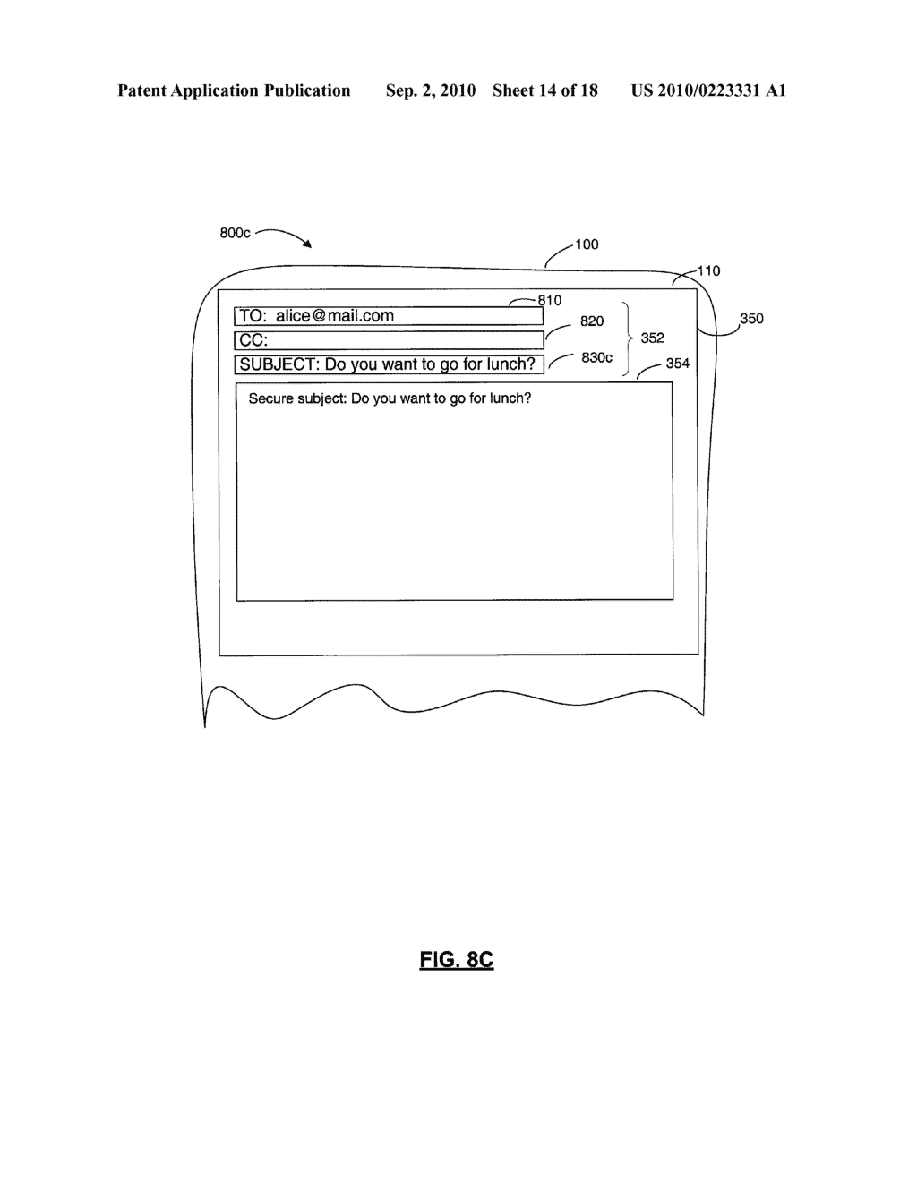 SYSTEMS AND METHODS FOR PROTECTING HEADER FIELDS IN A MESSAGE - diagram, schematic, and image 15