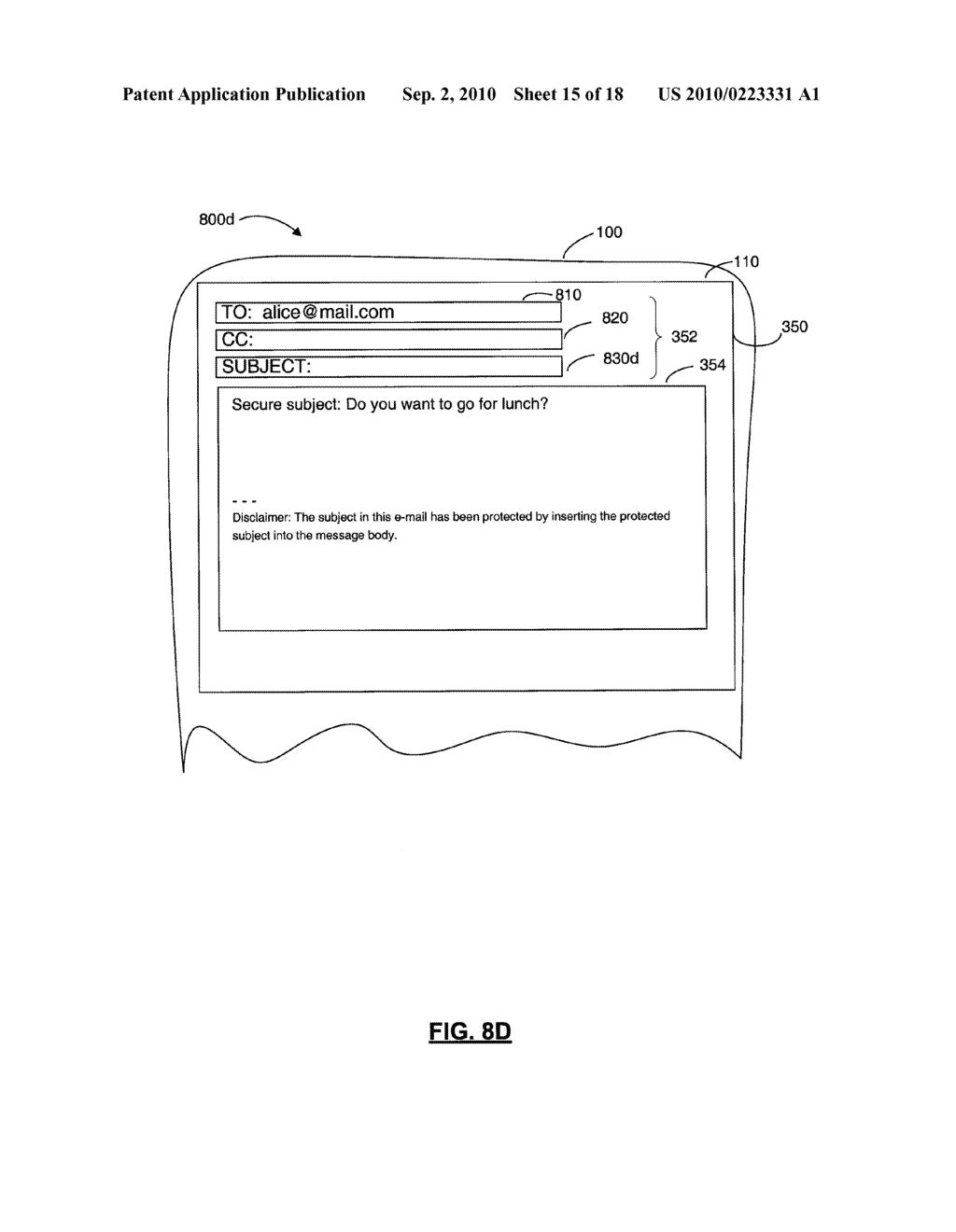 SYSTEMS AND METHODS FOR PROTECTING HEADER FIELDS IN A MESSAGE - diagram, schematic, and image 16