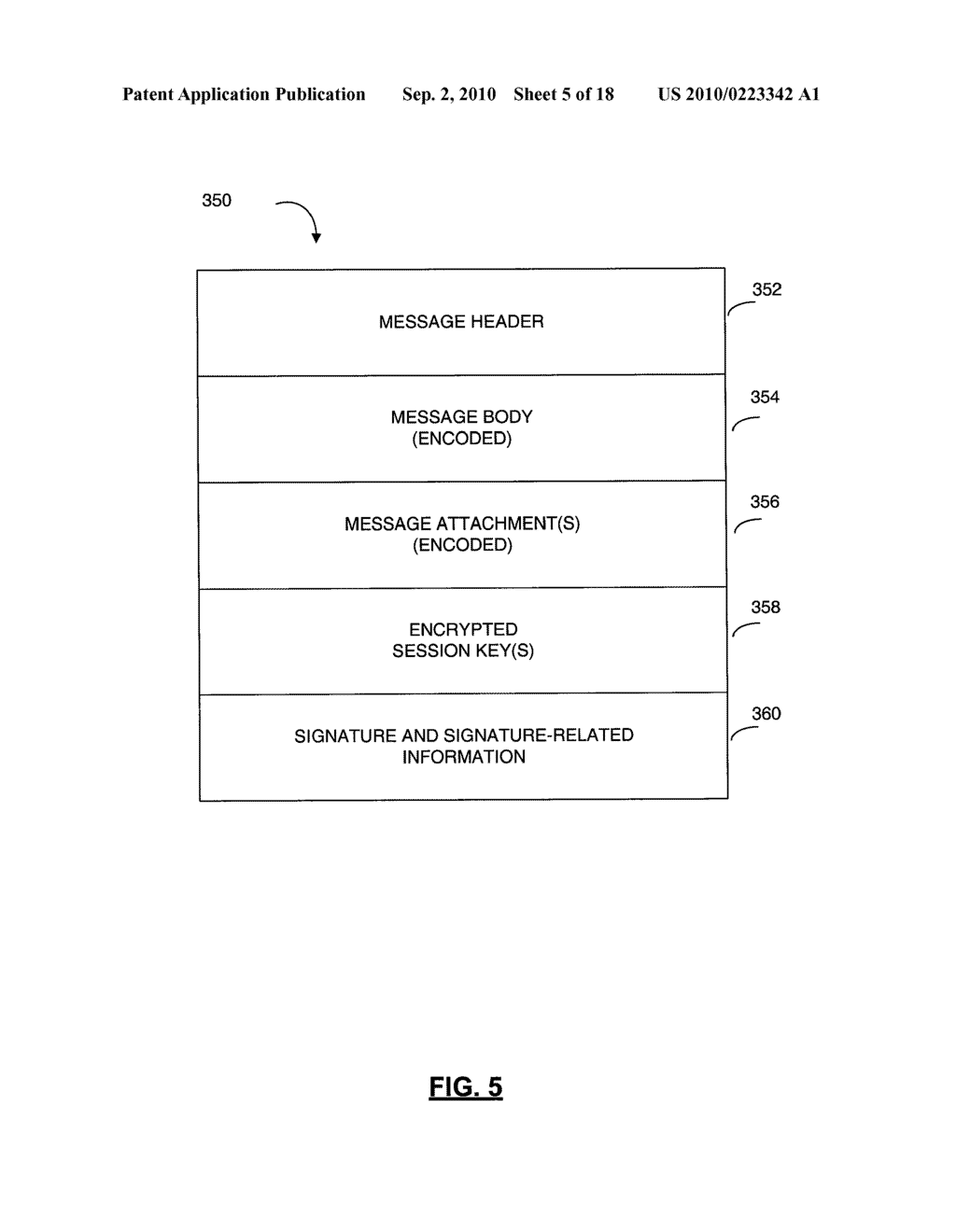 SYSTEMS AND METHODS FOR PROTECTING HEADER FIELDS IN A MESSAGE - diagram, schematic, and image 06