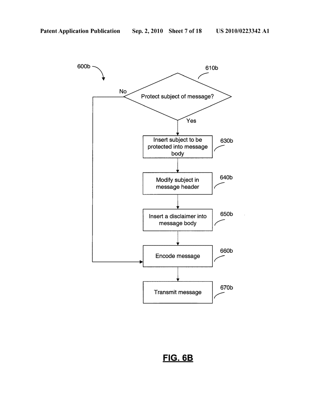 SYSTEMS AND METHODS FOR PROTECTING HEADER FIELDS IN A MESSAGE - diagram, schematic, and image 08