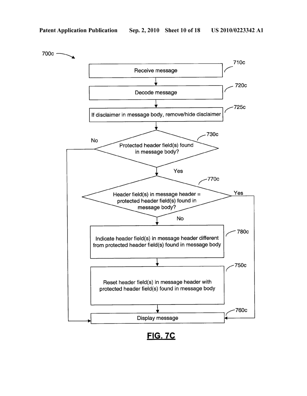 SYSTEMS AND METHODS FOR PROTECTING HEADER FIELDS IN A MESSAGE - diagram, schematic, and image 11