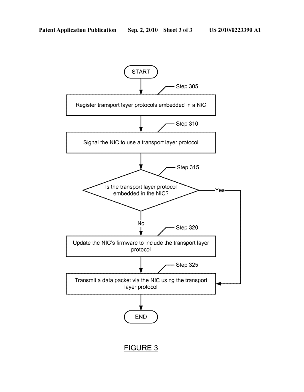 METHOD AND SYSTEM FOR OFFLOADED TRANSPORT LAYER PROTOCOL SWITCHING - diagram, schematic, and image 04