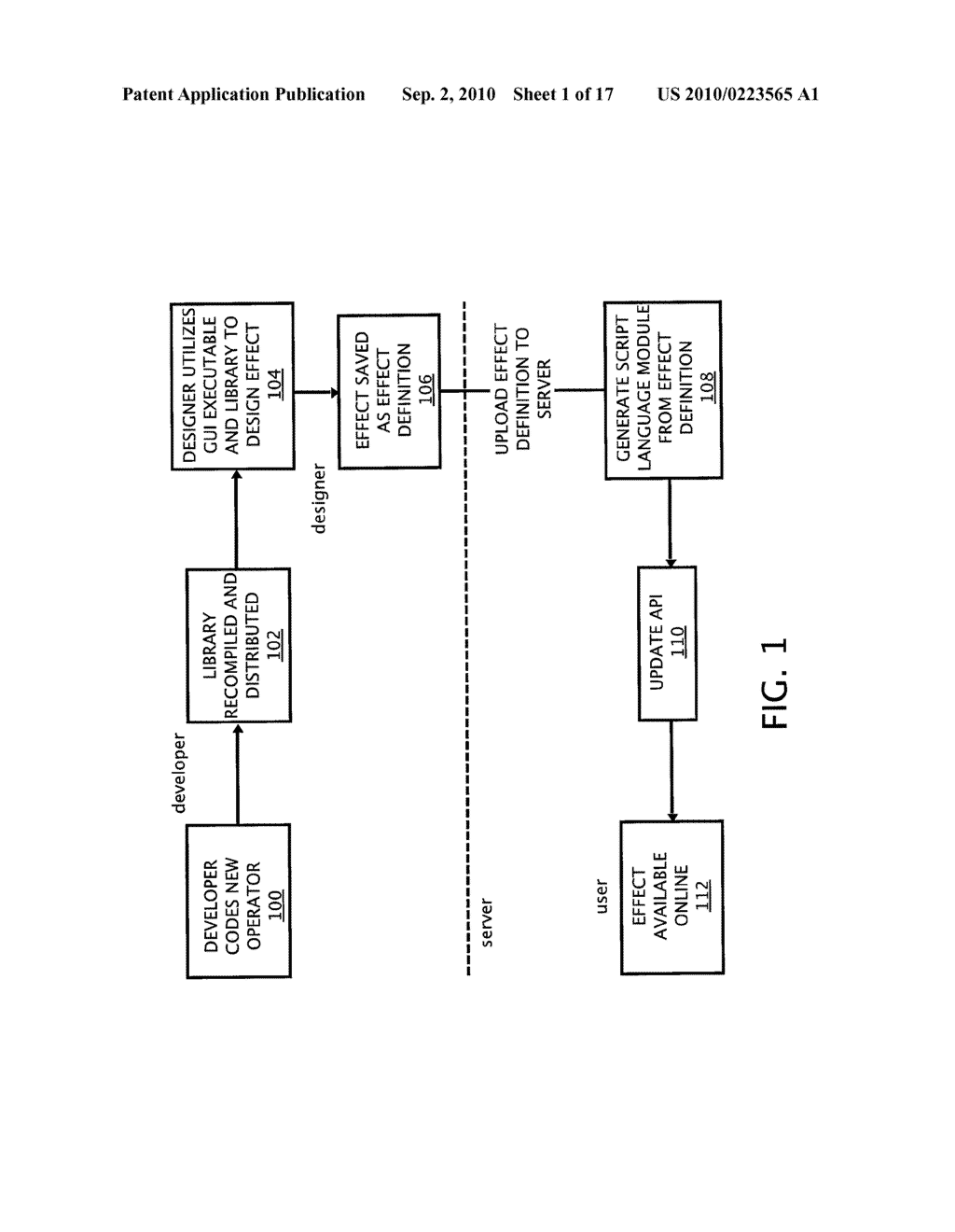 METHOD AND SYSTEM FOR PROVIDING AN IMAGE EFFECTS INTERFACE - diagram, schematic, and image 02
