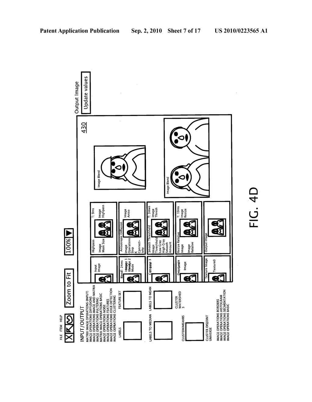 METHOD AND SYSTEM FOR PROVIDING AN IMAGE EFFECTS INTERFACE - diagram, schematic, and image 08