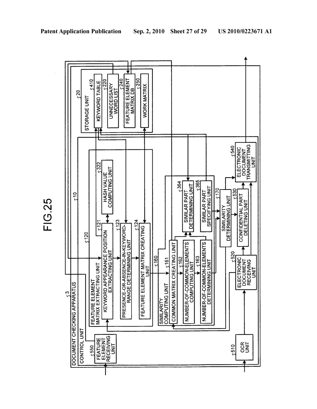 Document checking apparatus, computer-readable recording medium, and document checking method - diagram, schematic, and image 28