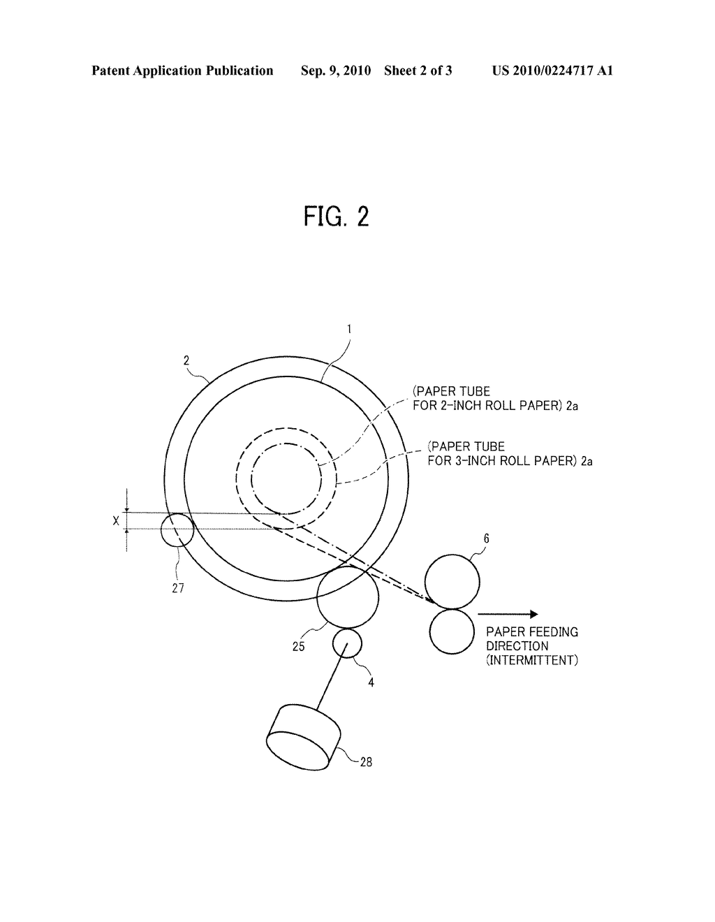 Roll-Paper Feeding Device And Image Forming Apparatus - diagram, schematic, and image 03