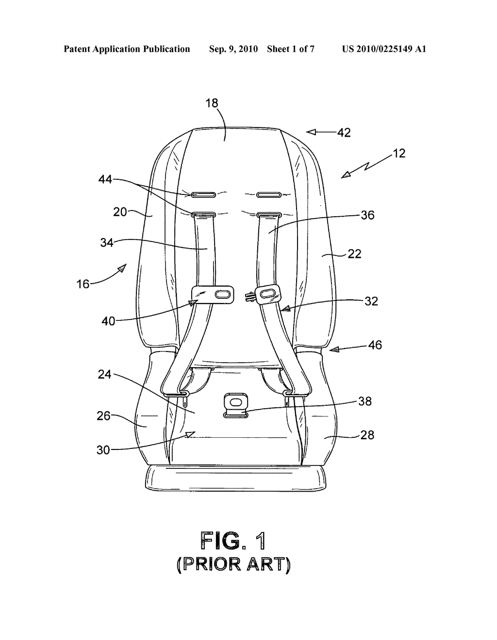 head support apparatus for child car seats diagram, schematic, and Car Seat Dimensions Diagram head support apparatus for child car seats diagram, schematic, and image 02
