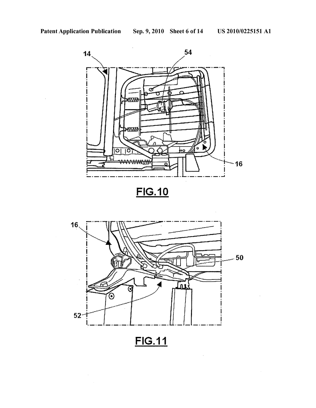 VEHICLE SEAT ACTUATION MECHANISM - diagram, schematic, and image 07