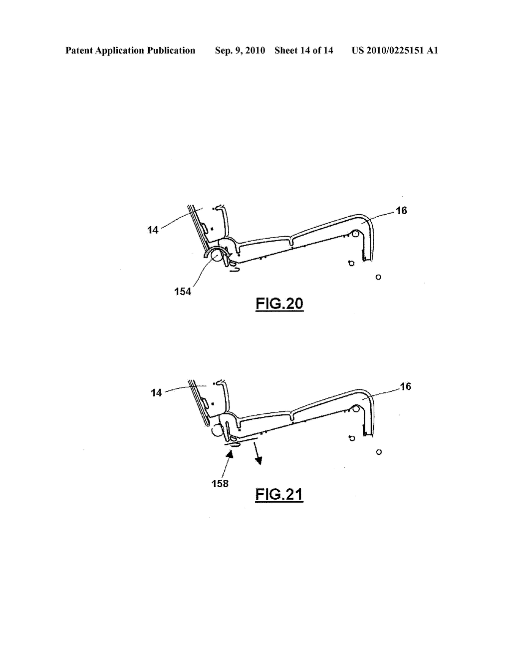 VEHICLE SEAT ACTUATION MECHANISM - diagram, schematic, and image 15