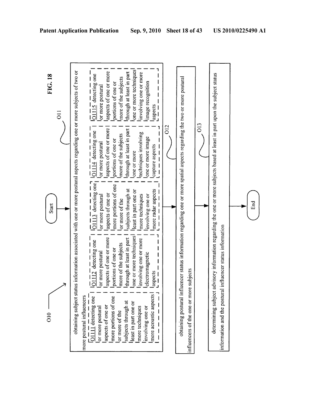 POSTURAL INFORMATION SYSTEM AND METHOD INCLUDING CENTRAL DETERMINING OF SUBJECT ADVISORY INFORMATION BASED ON SUBJECT STATUS INFORMATION AND POSTURAL INFLUENCER STATUS INFORMATION - diagram, schematic, and image 19