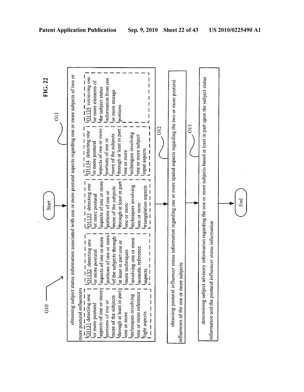 POSTURAL INFORMATION SYSTEM AND METHOD INCLUDING CENTRAL DETERMINING OF SUBJECT ADVISORY INFORMATION BASED ON SUBJECT STATUS INFORMATION AND POSTURAL INFLUENCER STATUS INFORMATION - diagram, schematic, and image 23