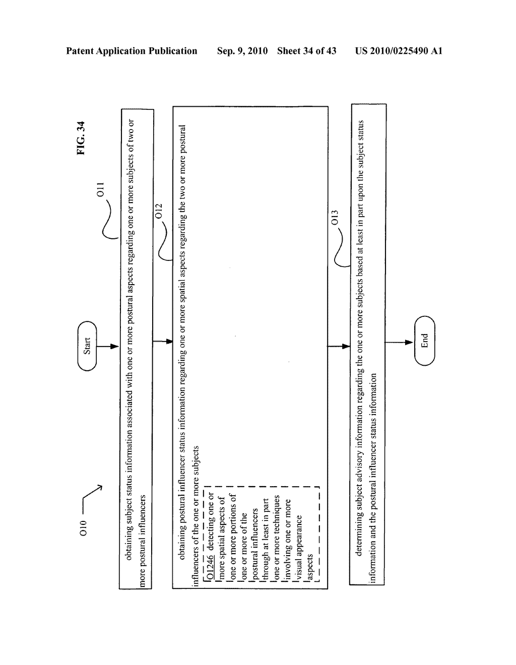 POSTURAL INFORMATION SYSTEM AND METHOD INCLUDING CENTRAL DETERMINING OF SUBJECT ADVISORY INFORMATION BASED ON SUBJECT STATUS INFORMATION AND POSTURAL INFLUENCER STATUS INFORMATION - diagram, schematic, and image 35