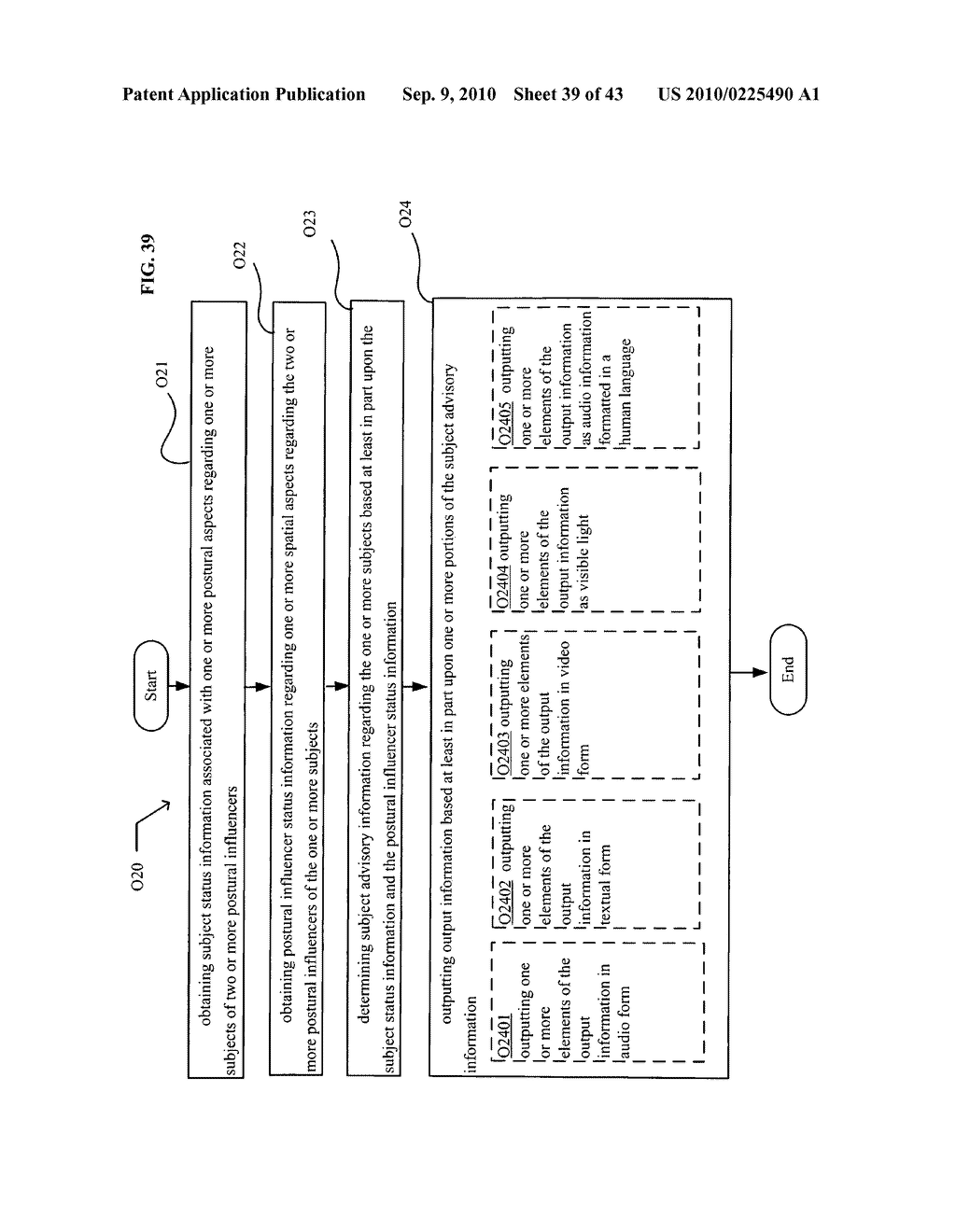 POSTURAL INFORMATION SYSTEM AND METHOD INCLUDING CENTRAL DETERMINING OF SUBJECT ADVISORY INFORMATION BASED ON SUBJECT STATUS INFORMATION AND POSTURAL INFLUENCER STATUS INFORMATION - diagram, schematic, and image 40