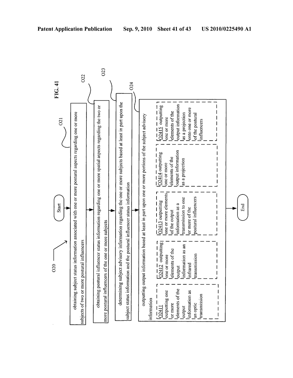 POSTURAL INFORMATION SYSTEM AND METHOD INCLUDING CENTRAL DETERMINING OF SUBJECT ADVISORY INFORMATION BASED ON SUBJECT STATUS INFORMATION AND POSTURAL INFLUENCER STATUS INFORMATION - diagram, schematic, and image 42