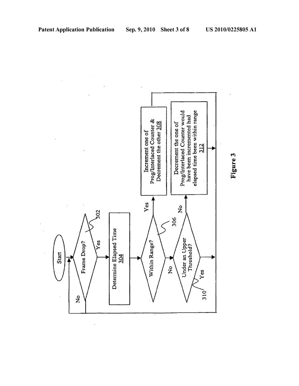 VIDEO PROCESSOR AND METHOD FOR AUTOMATED DEINTERLACING AND INVERSE TELECINE - diagram, schematic, and image 04