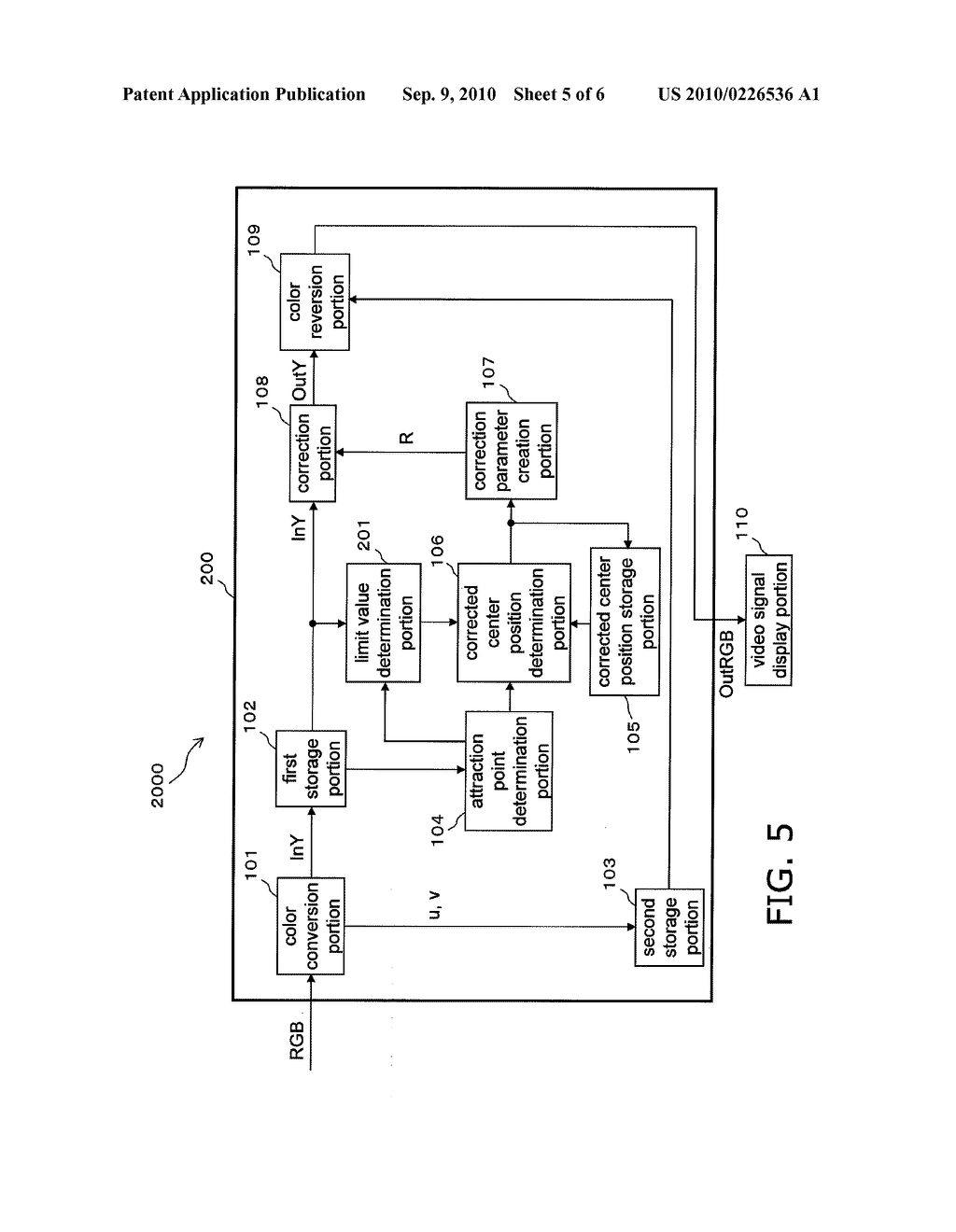VIDEO SIGNAL DISPLAY DEVICE, VIDEO SIGNAL DISPLAY METHOD, STORAGE MEDIUM, AND INTEGRATED CIRCUIT - diagram, schematic, and image 06