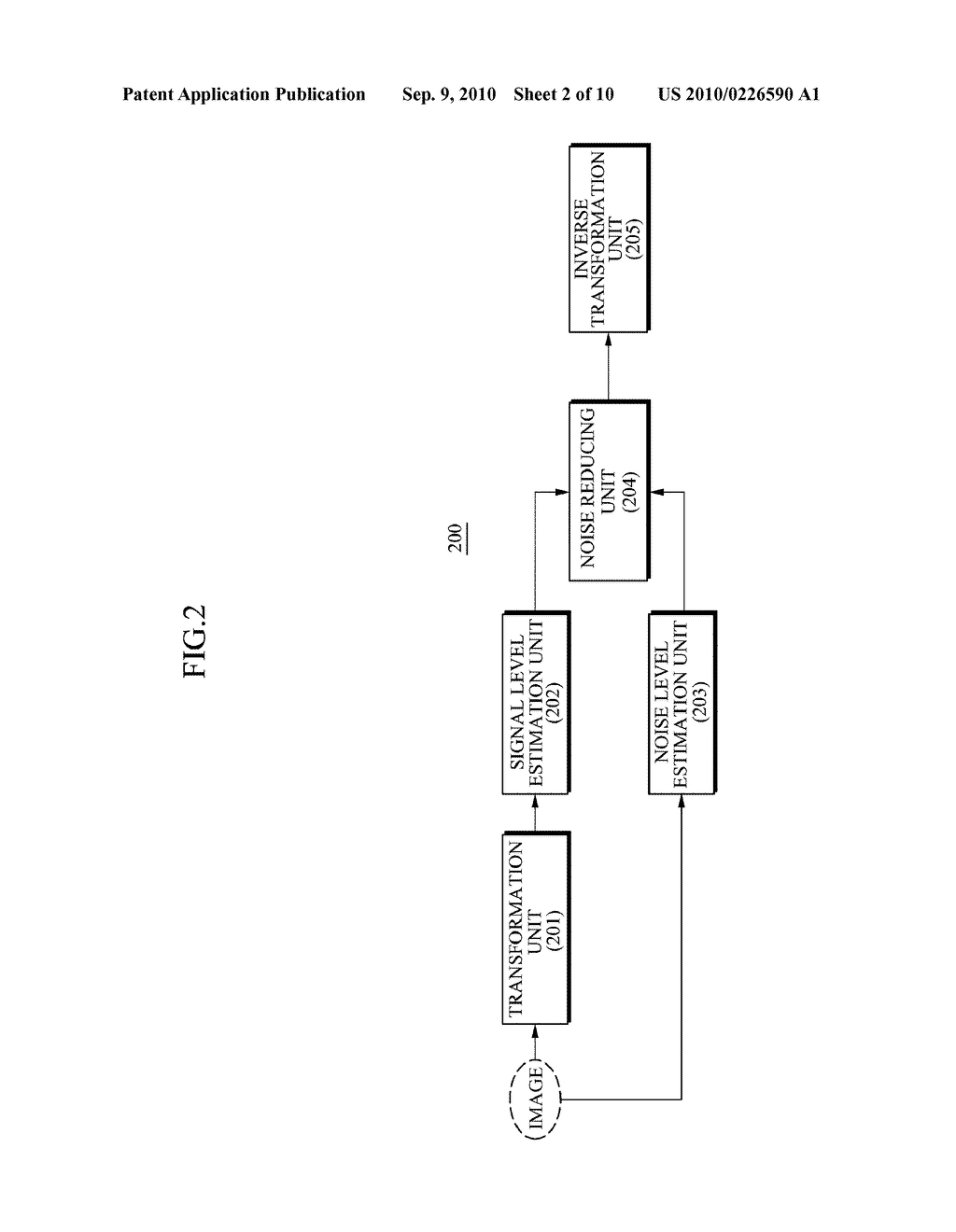 APPARATUS AND METHOD FOR REDUCING NOISE FROM AN IMAGE - diagram, schematic, and image 03