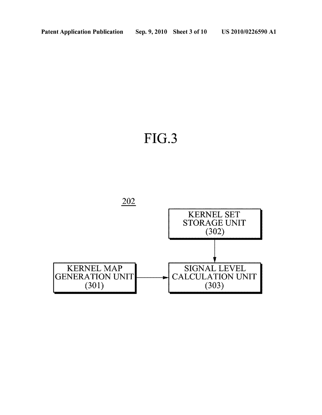 APPARATUS AND METHOD FOR REDUCING NOISE FROM AN IMAGE - diagram, schematic, and image 04