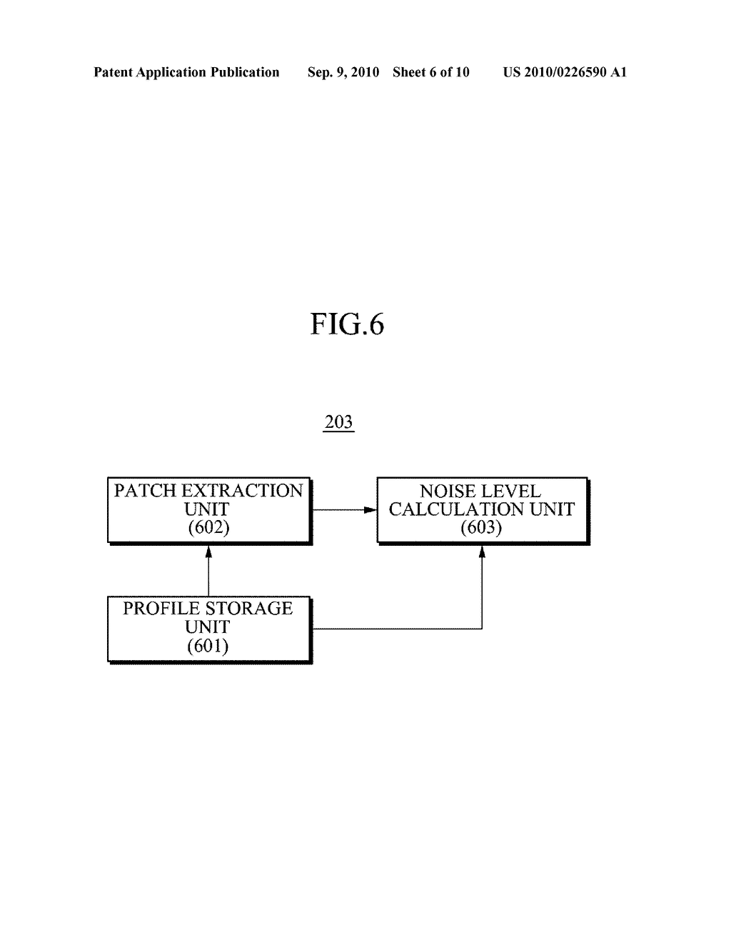 APPARATUS AND METHOD FOR REDUCING NOISE FROM AN IMAGE - diagram, schematic, and image 07