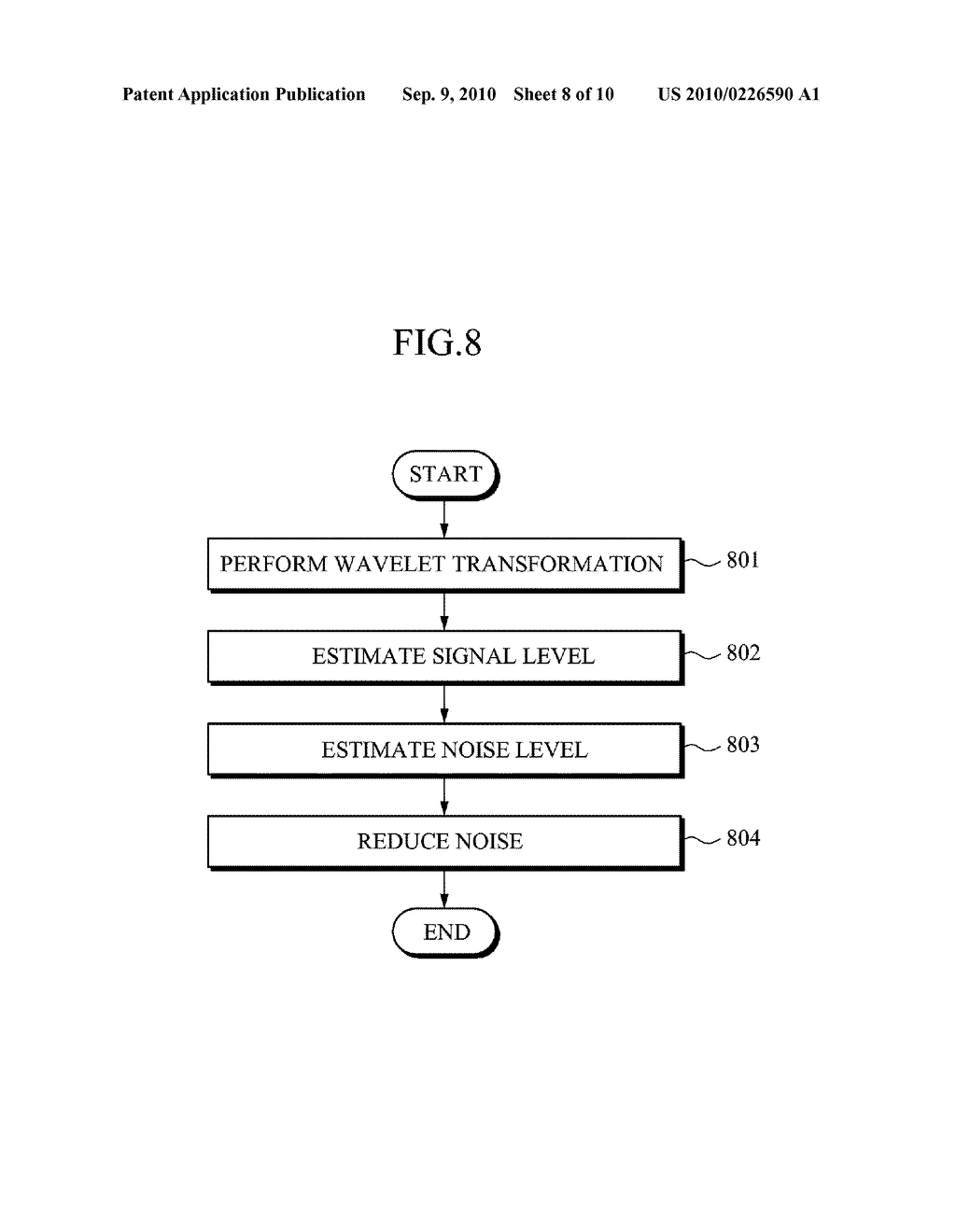 APPARATUS AND METHOD FOR REDUCING NOISE FROM AN IMAGE - diagram, schematic, and image 09
