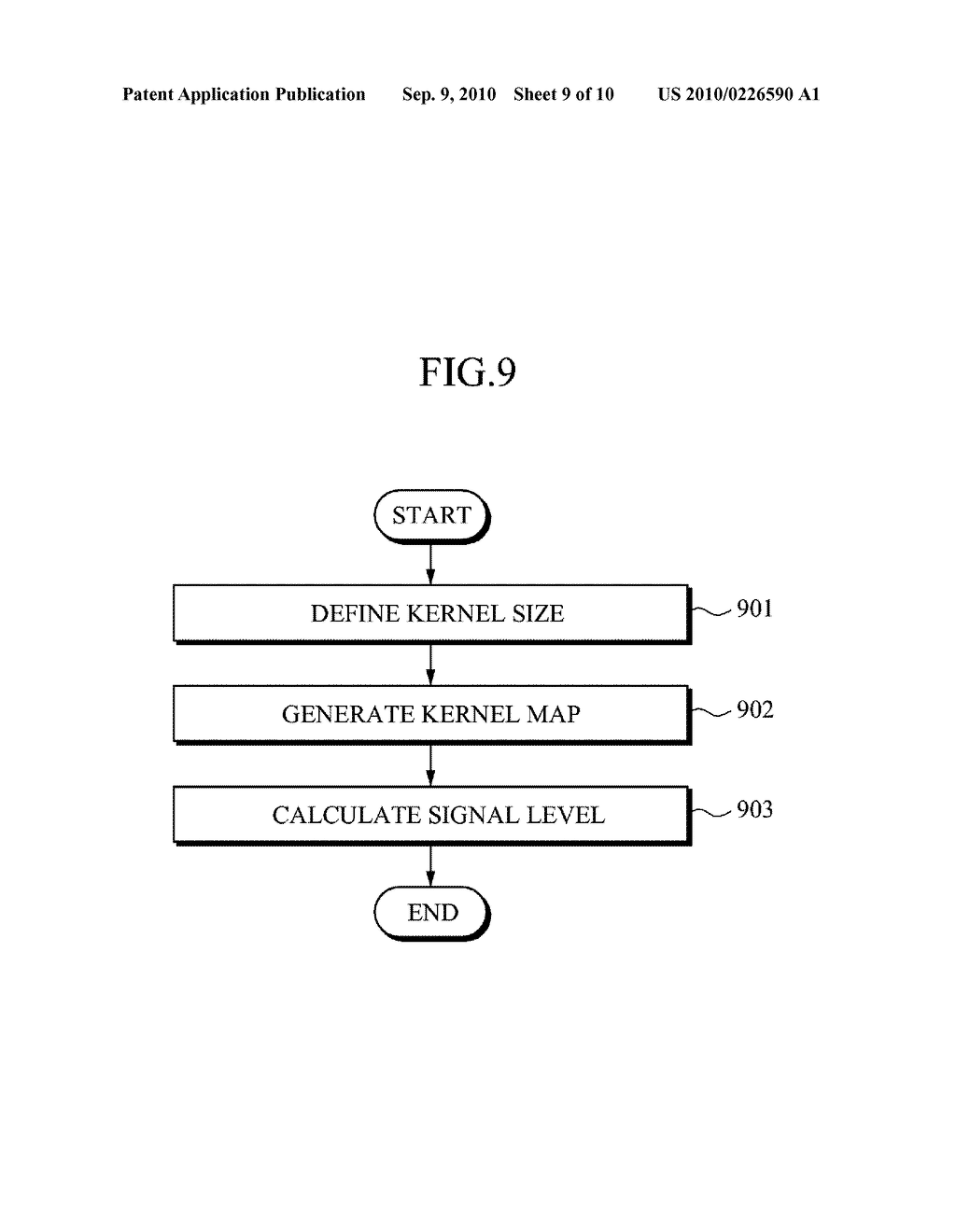 APPARATUS AND METHOD FOR REDUCING NOISE FROM AN IMAGE - diagram, schematic, and image 10