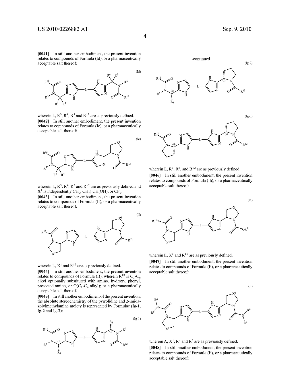 LINKED DIIMIDAZOLE ANTIVIRALS - diagram, schematic, and image 05