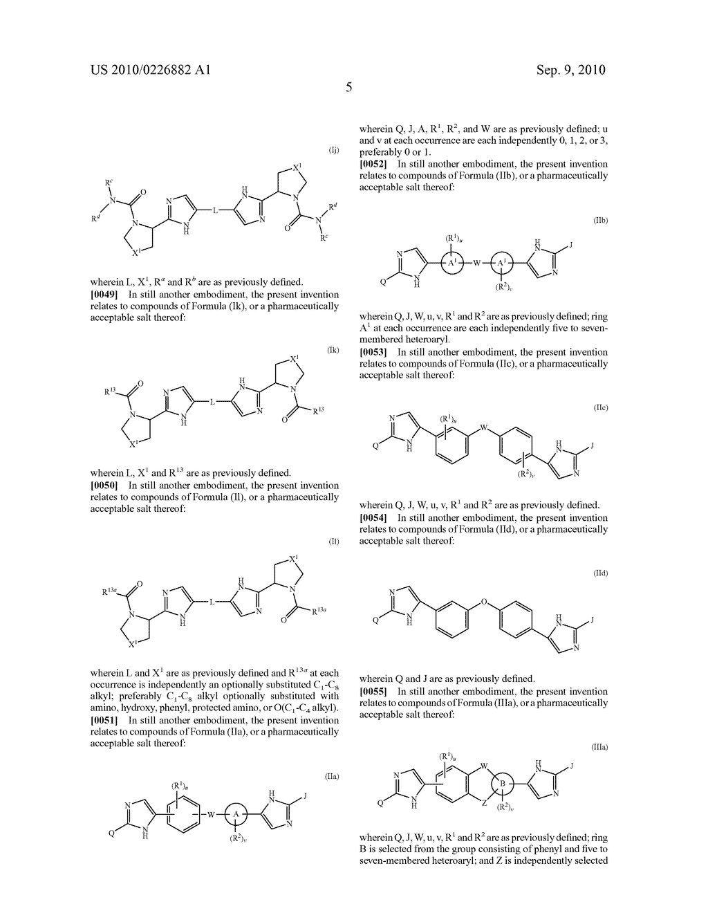 LINKED DIIMIDAZOLE ANTIVIRALS - diagram, schematic, and image 06