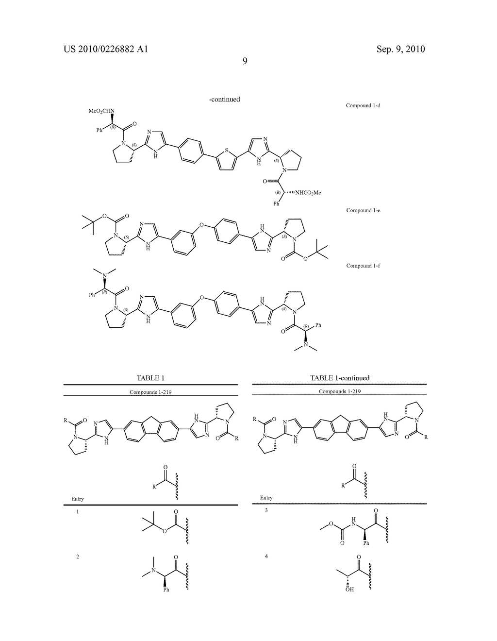 LINKED DIIMIDAZOLE ANTIVIRALS - diagram, schematic, and image 10