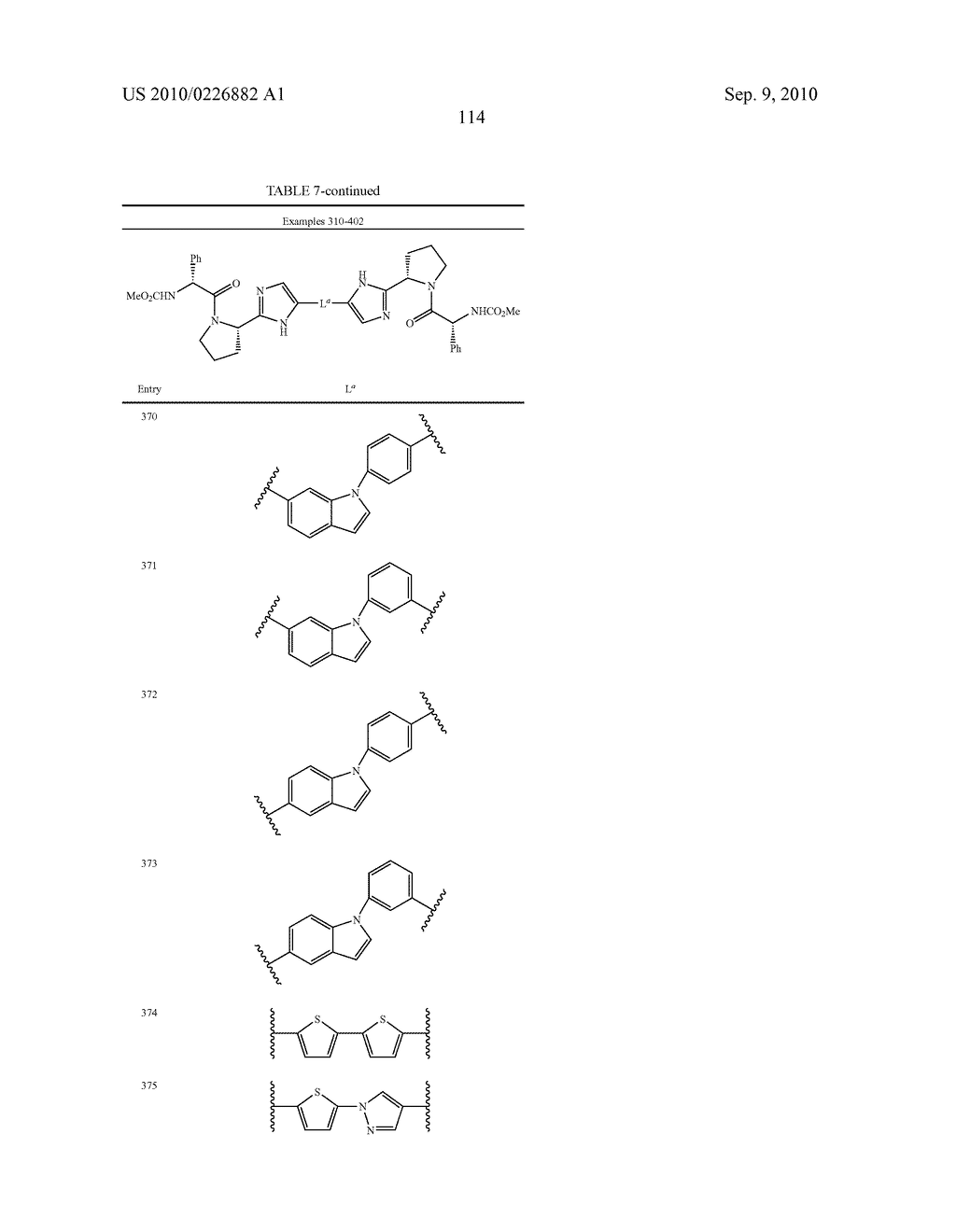 LINKED DIIMIDAZOLE ANTIVIRALS - diagram, schematic, and image 115