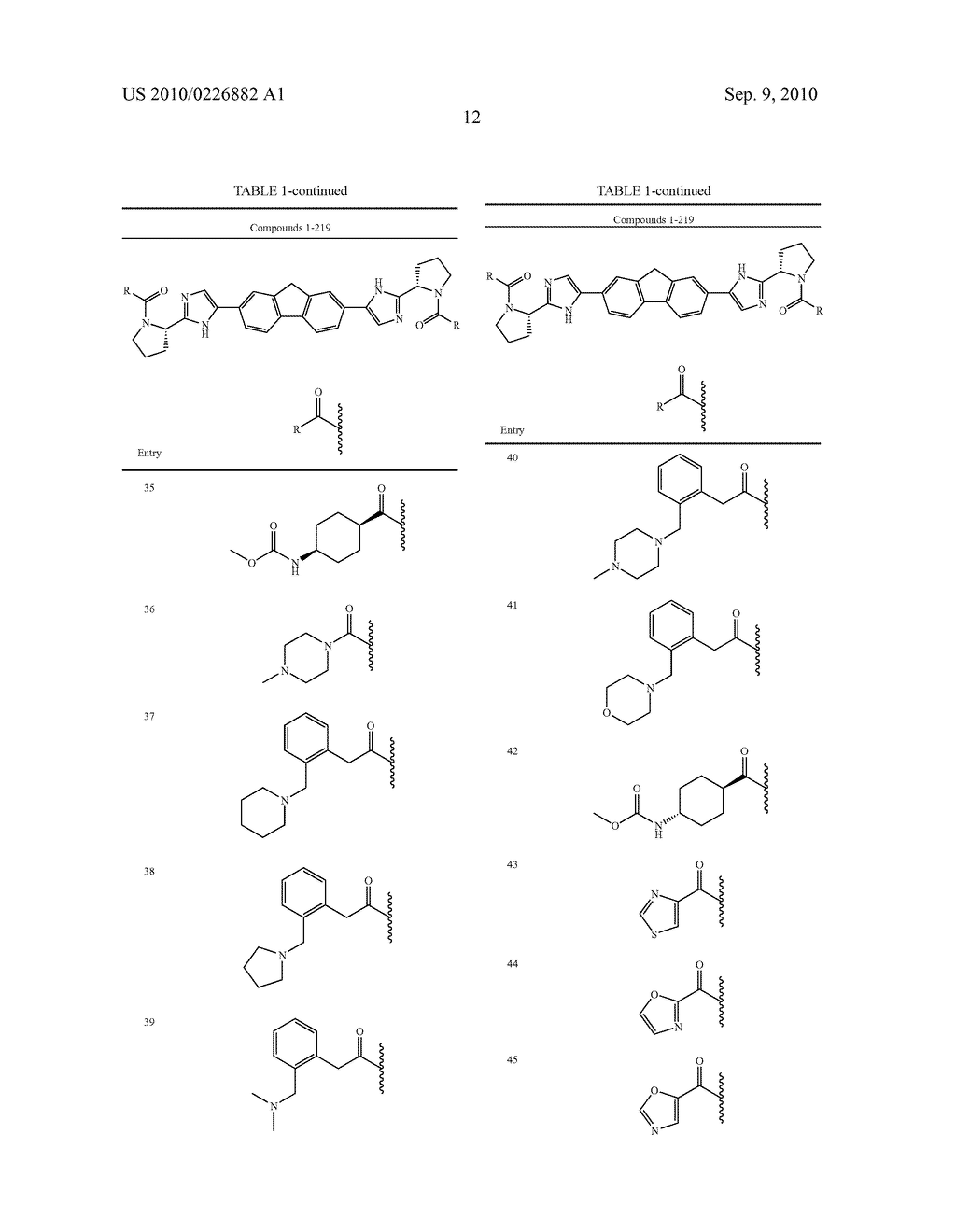 LINKED DIIMIDAZOLE ANTIVIRALS - diagram, schematic, and image 13