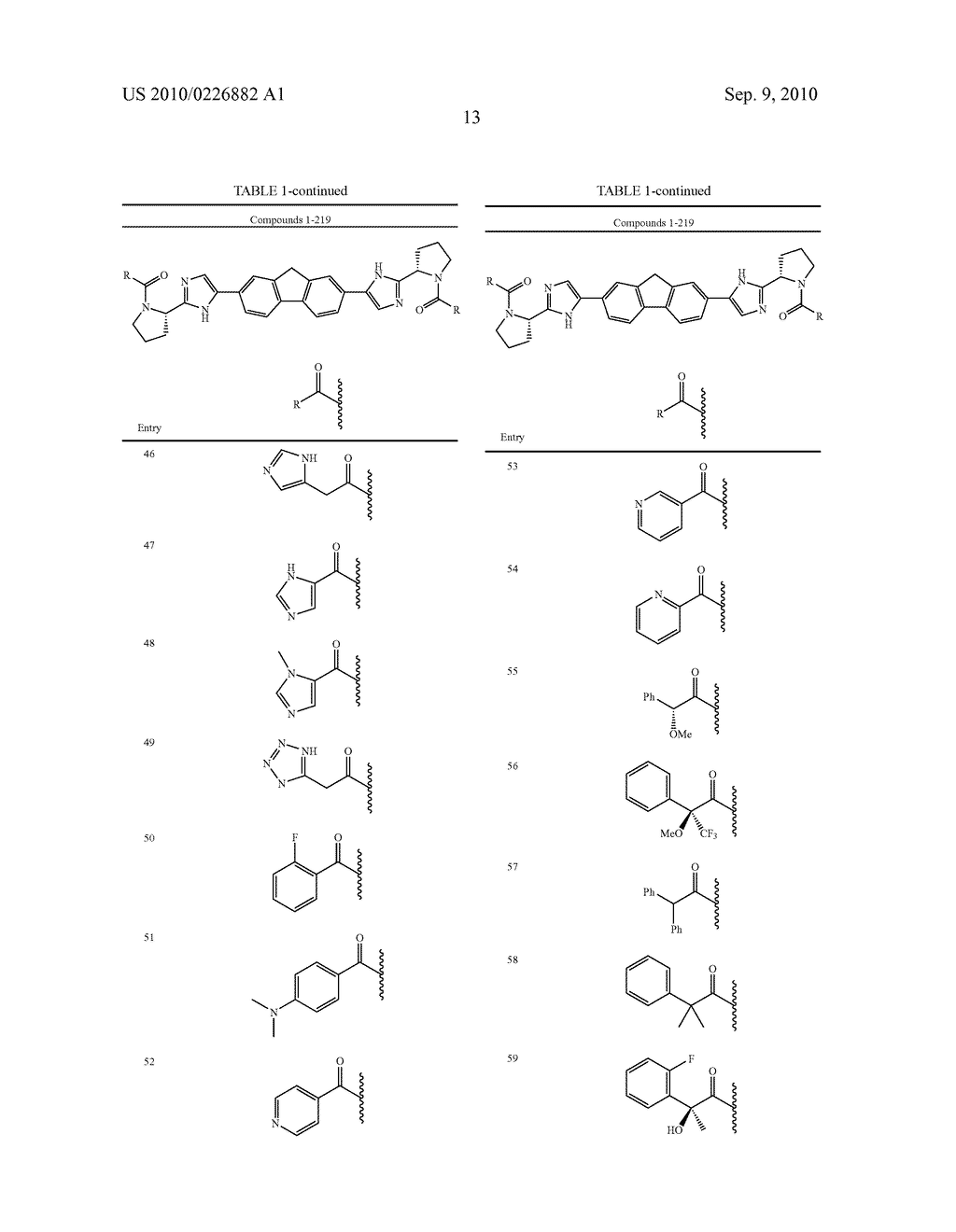 LINKED DIIMIDAZOLE ANTIVIRALS - diagram, schematic, and image 14