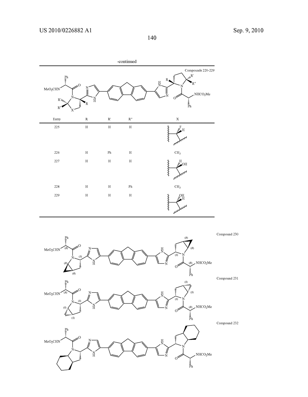 LINKED DIIMIDAZOLE ANTIVIRALS - diagram, schematic, and image 141