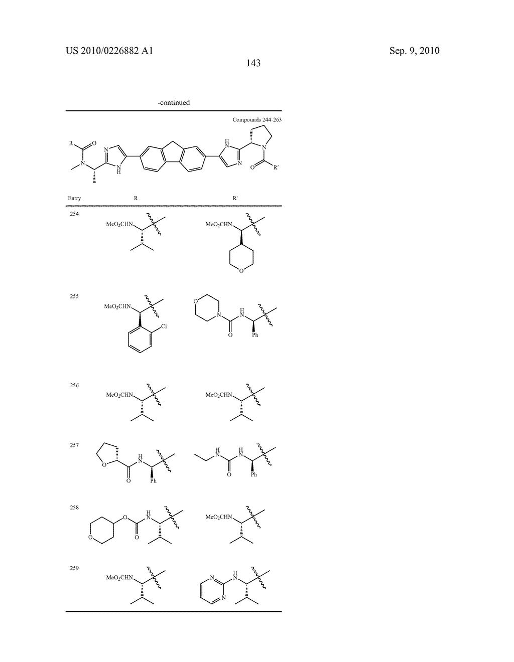 LINKED DIIMIDAZOLE ANTIVIRALS - diagram, schematic, and image 144